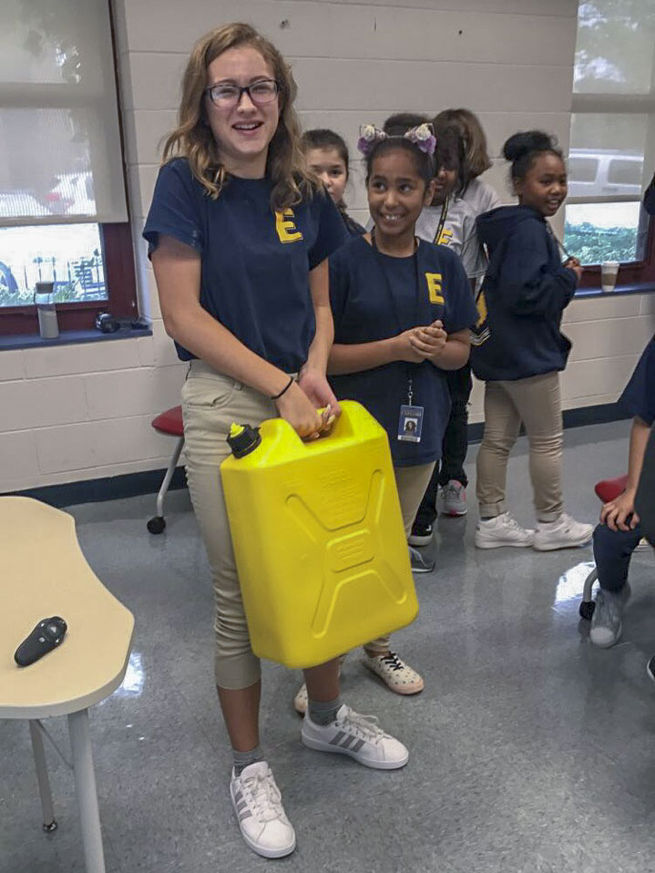 Thirst Project Visits Explore Middle School