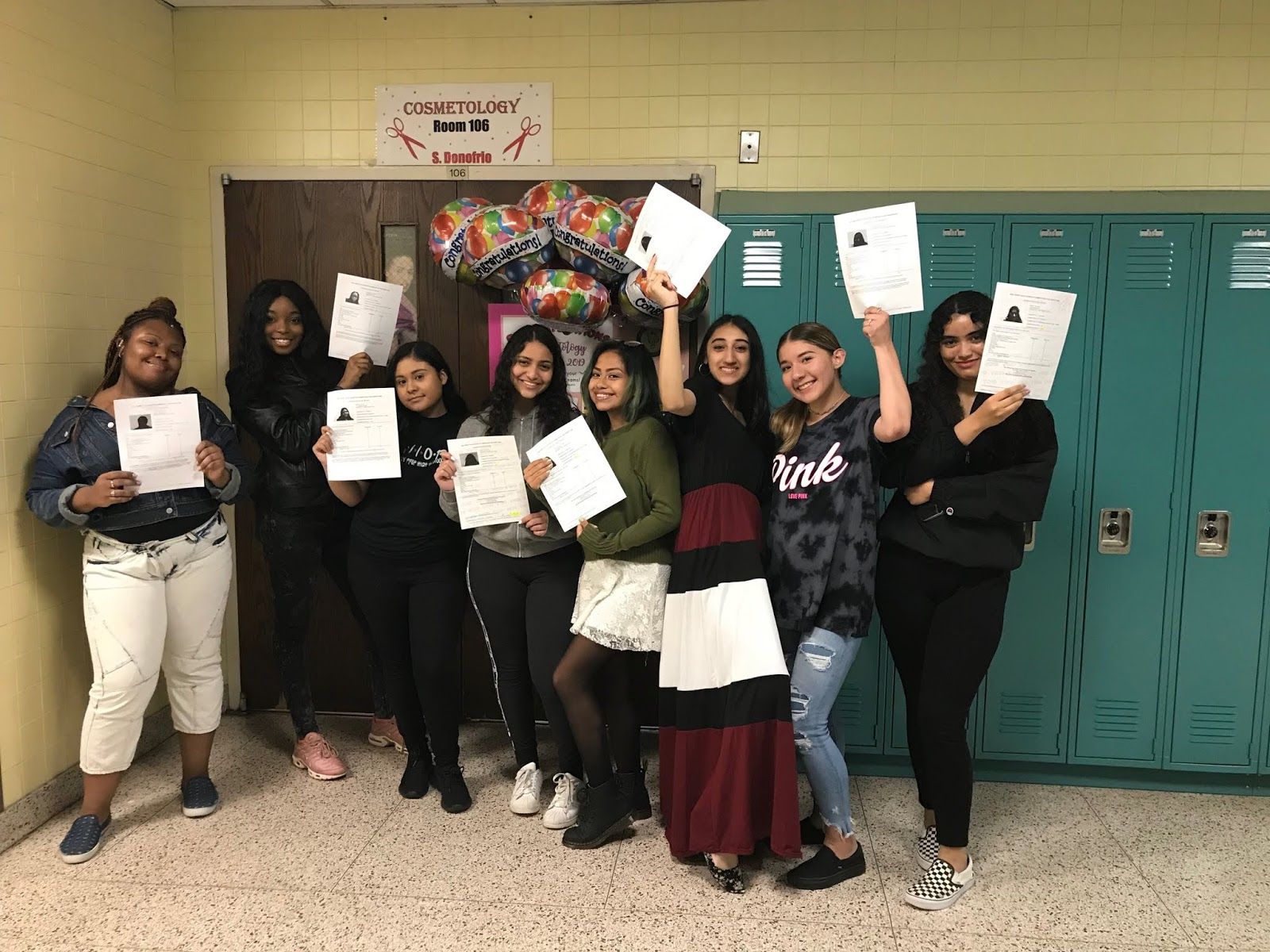Cosmetology Students at County Prep Pass NJ State Board Exams