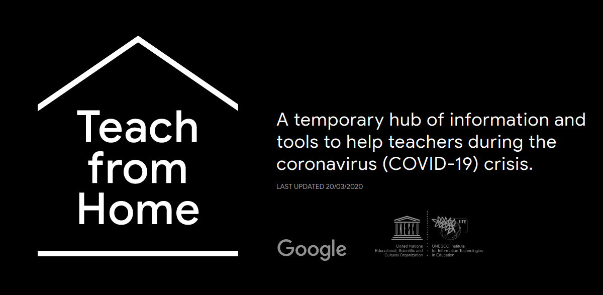 Google Teach From Home Information