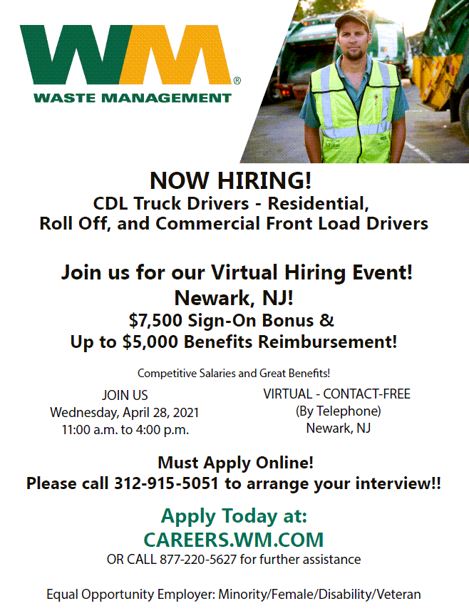 Waste Management Click to Open Flyer